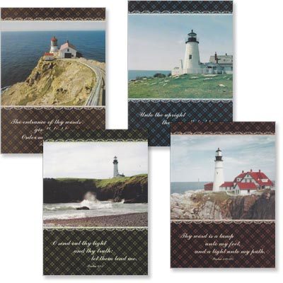 Birthday Cards - Guiding Light - Set of 4